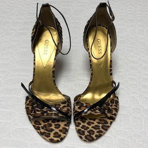 Guess | animal print stiletto heels